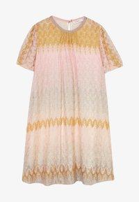 Missoni Kids - DRESS - Pletené šaty - multicoloured - 2