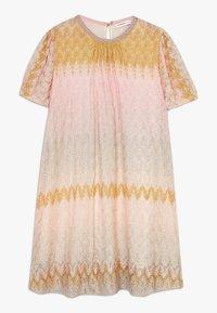 Missoni Kids - DRESS - Pletené šaty - multicoloured - 0
