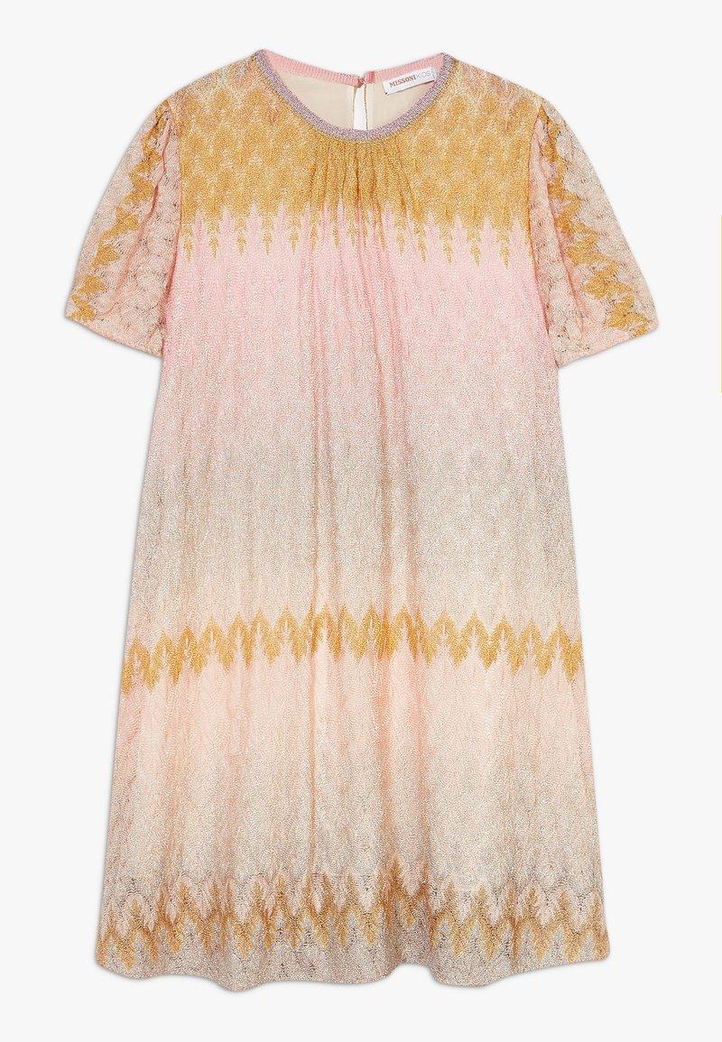 Missoni Kids - DRESS - Pletené šaty - multicoloured