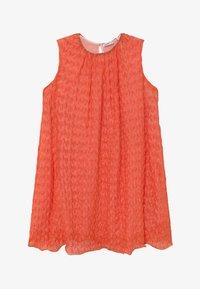 Missoni Kids - Pletené šaty - orange - 2