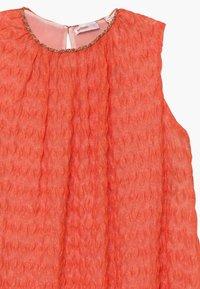 Missoni Kids - Pletené šaty - orange - 3