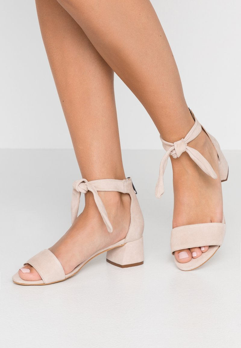 mint&berry wide fit - Sandály - nude