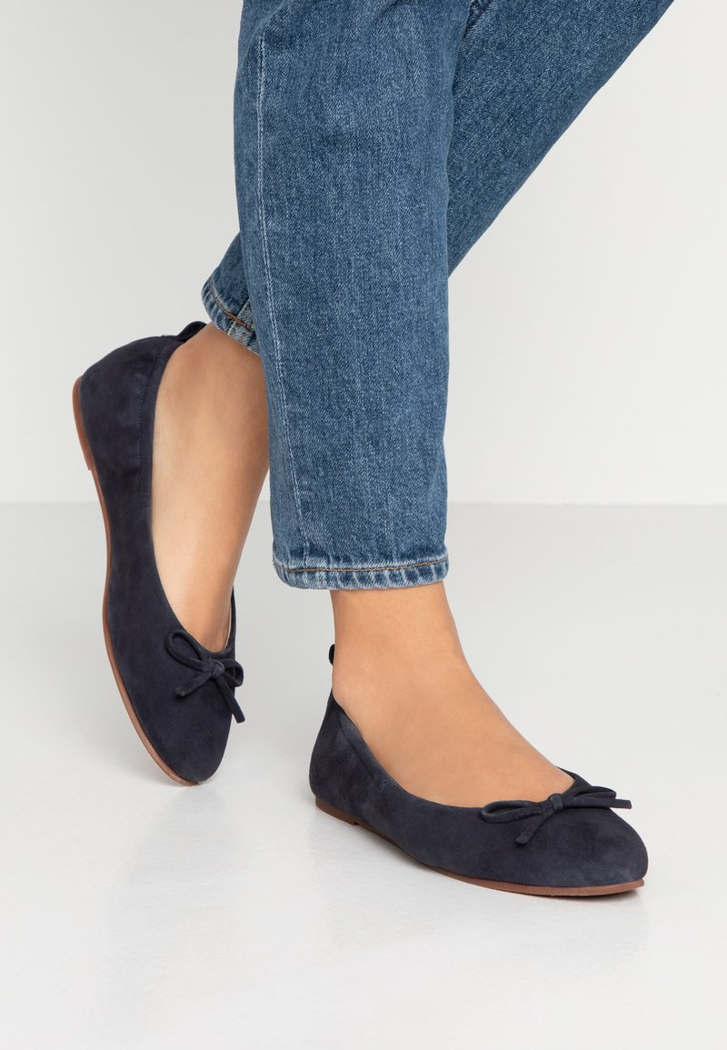 mint&berry wide fit - Ballet pumps - dark blue