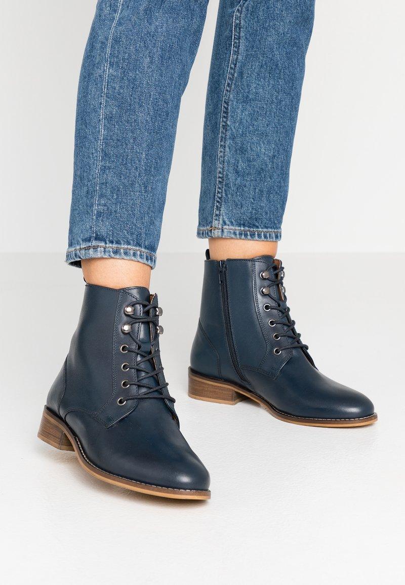 mint&berry wide fit - Veterboots - blue