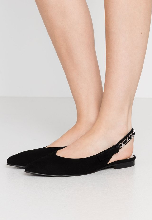 NB SF.14 L15 - Slingback ballet pumps - black