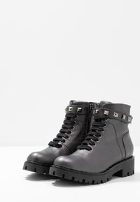 Marc Cain - Cowboy/biker ankle boot - anthrazit - 4