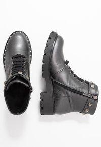 Marc Cain - Cowboy/biker ankle boot - anthrazit - 3