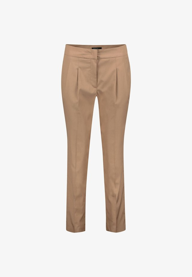 MARC CAIN DAMEN HOSE SLIM FIT - Trousers - sand (21)