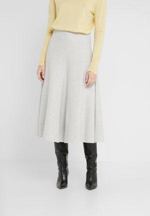 Spódnica trapezowa - silver grey