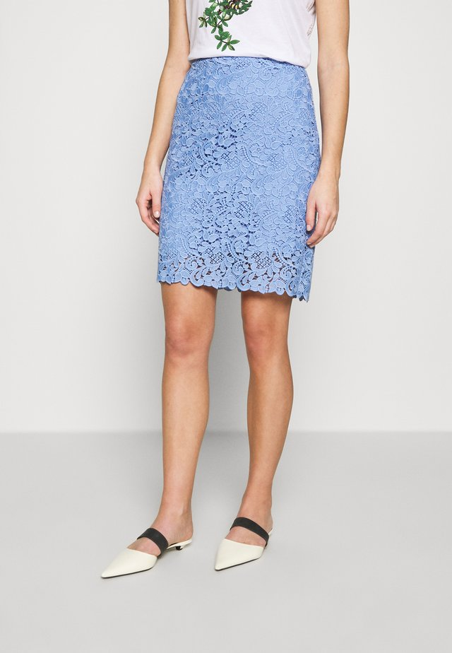 Pencil skirt - light blue