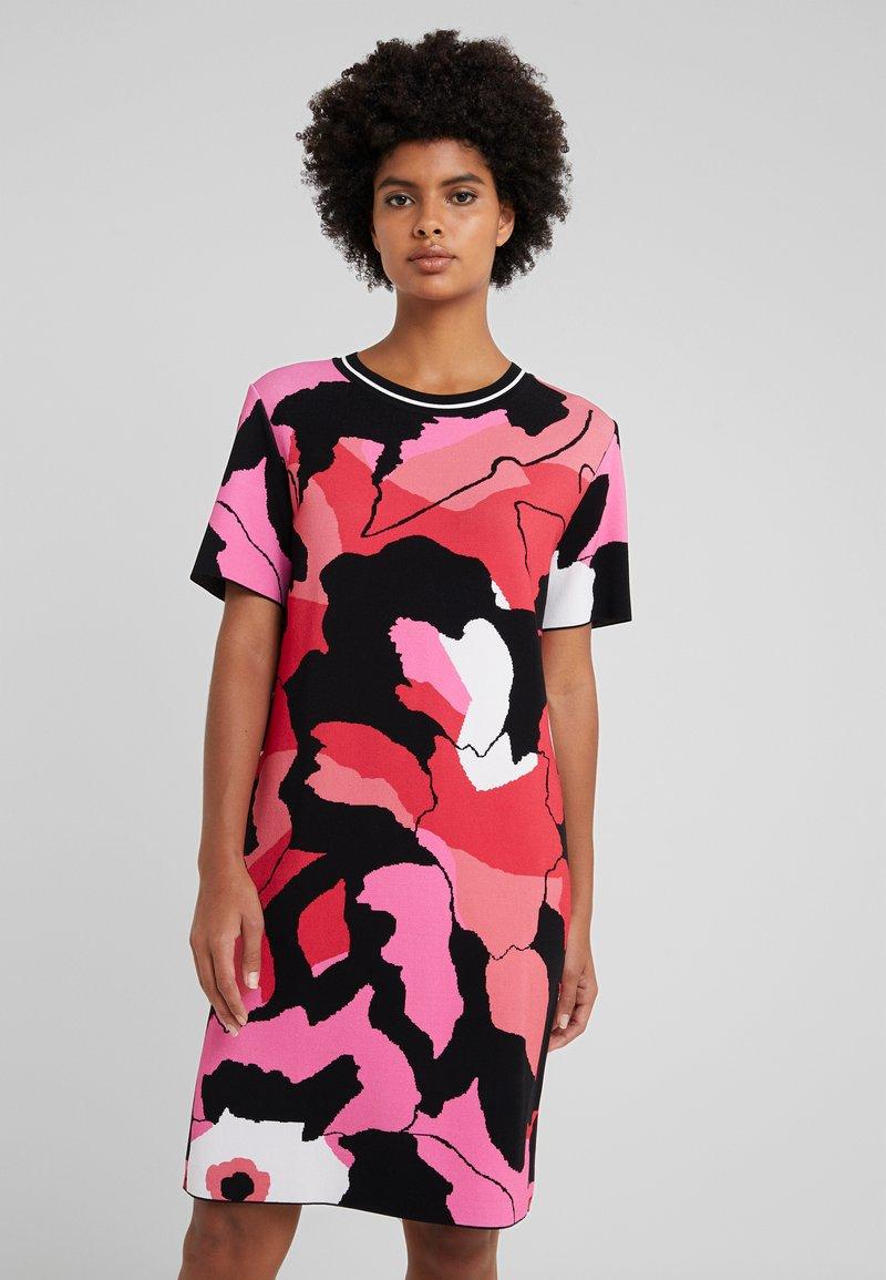 Marc Cain - Strikket kjole - multi-coloured