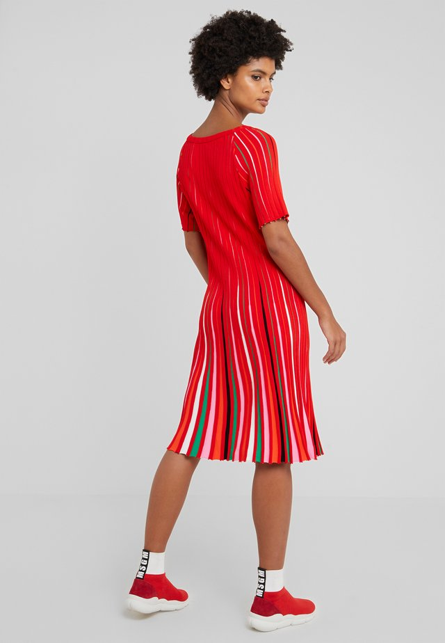 Gebreide jurk - multicoloured