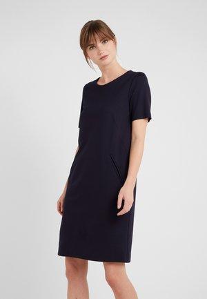 Pouzdrové šaty - dunkelblau