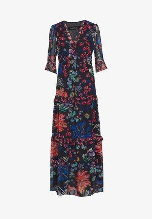 Długa sukienka - blau