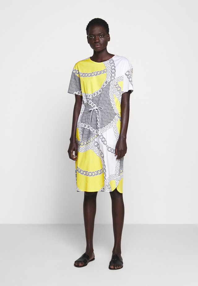 Korte jurk - gelb