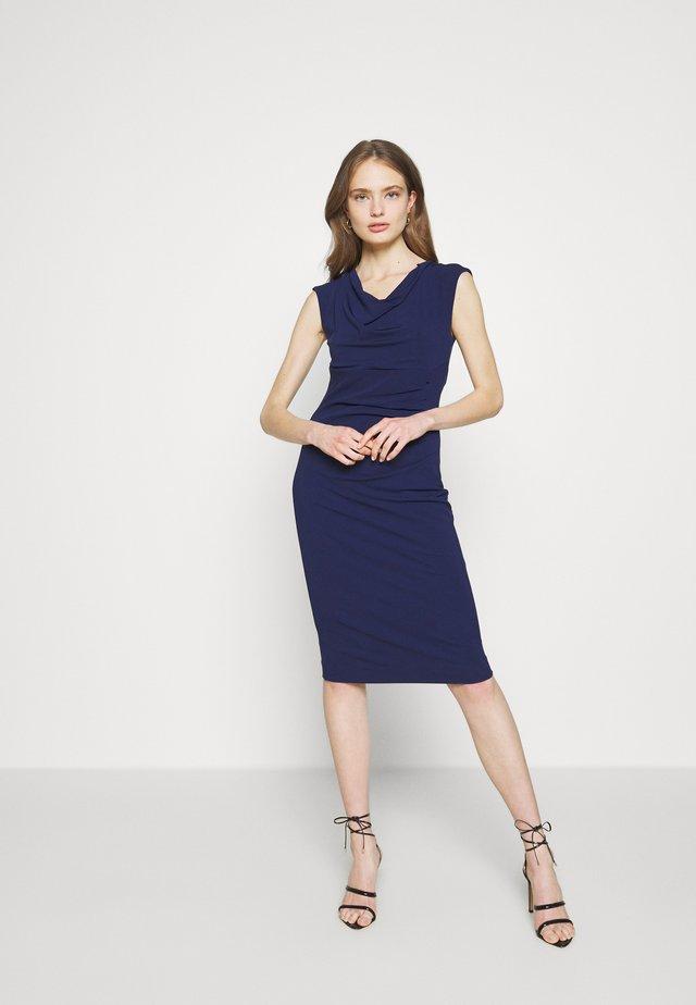 Etui-jurk - blau