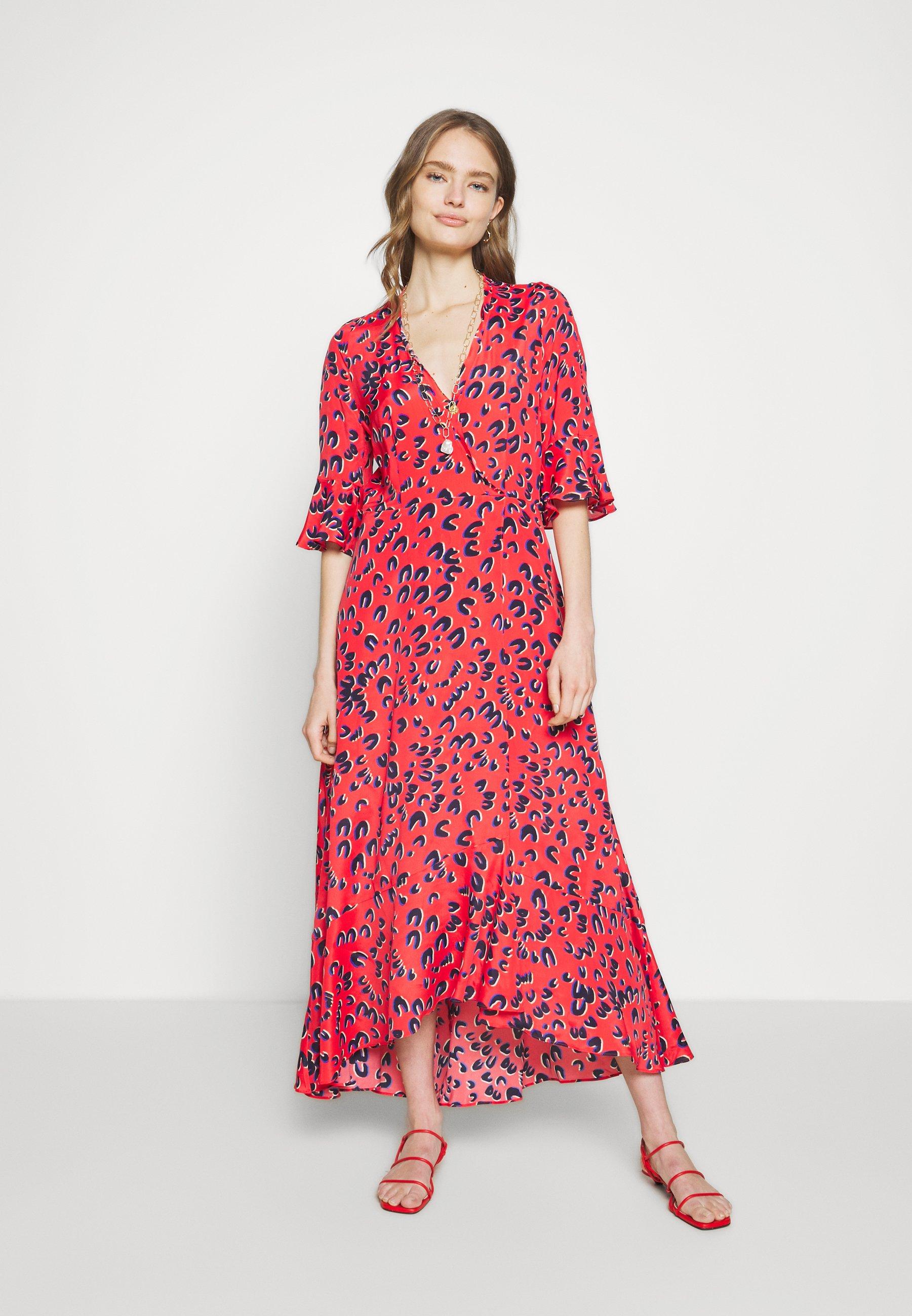 Marc Cain Długa sukienka - rot