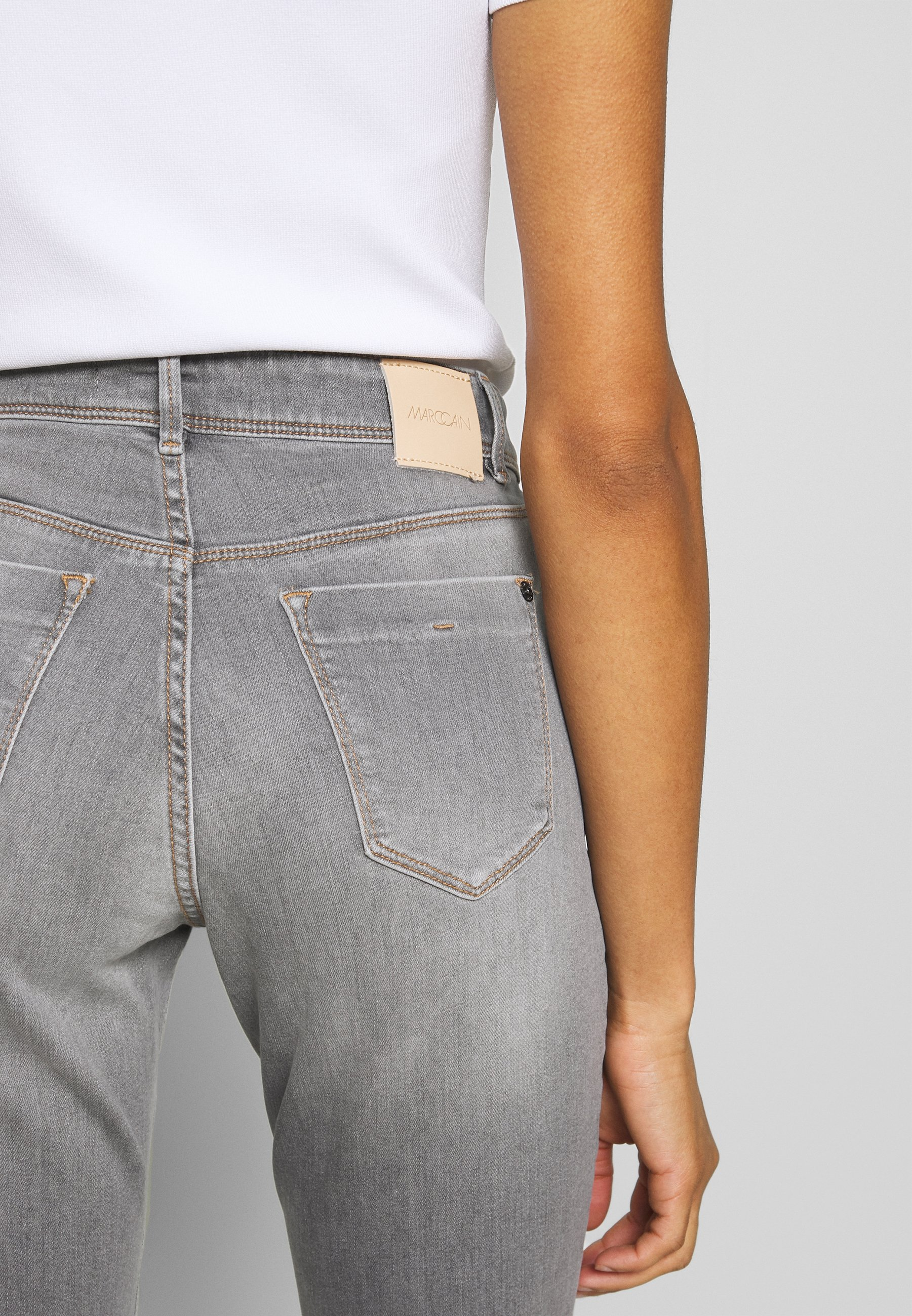 Marc Cain Jeansy Slim Fit - grey denim