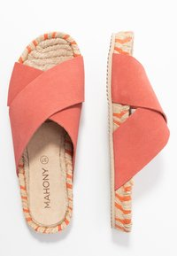 MAHONY - WOLK - Mules - coral - 3
