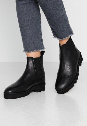 CELIN - Kotníkové boty na platformě - black