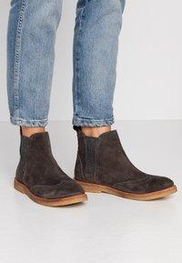 MAHONY - REGGIO - Ankle boots - titan - 0
