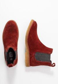 MAHONY - REGGIO - Boots à talons - bordo - 3