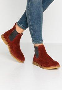 MAHONY - REGGIO - Boots à talons - bordo - 0