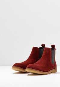 MAHONY - REGGIO - Boots à talons - bordo - 4