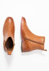 MAHONY - MILANO - Classic ankle boots - cognac - 3
