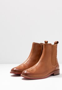 MAHONY - MILANO - Classic ankle boots - cognac - 4