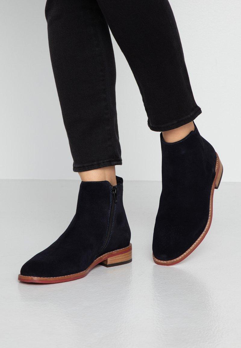 MAHONY - VERONA - Classic ankle boots - dark blue