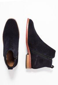 MAHONY - VERONA - Classic ankle boots - dark blue - 3