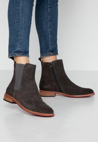MAHONY - MILANO - Classic ankle boots - titan - 0