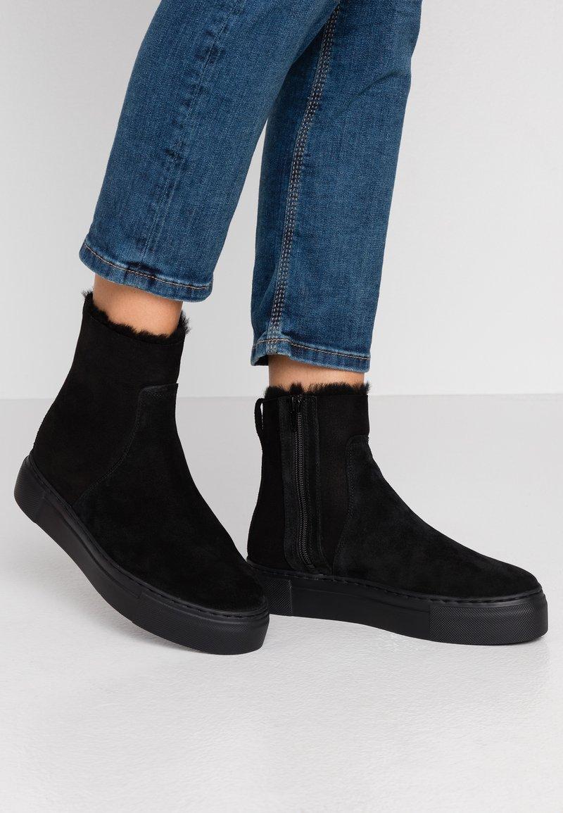 MAHONY - MALMÖ - Snowboots  - black