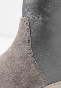 MAHONY - MALMÖ - Platform ankle boots - grey/silver - 2