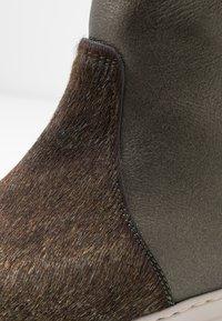 MAHONY - BERGEN - Platform ankle boots - khaki - 2