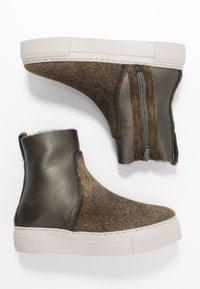 MAHONY - BERGEN - Platform ankle boots - khaki - 3