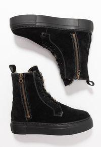 MAHONY - HELSINKI - Platform ankle boots - black - 3
