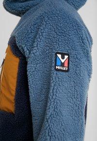 Millet - SEVEN WINDSHEEP HOODIE - Kurtka z polaru - saphir/hamilton - 3