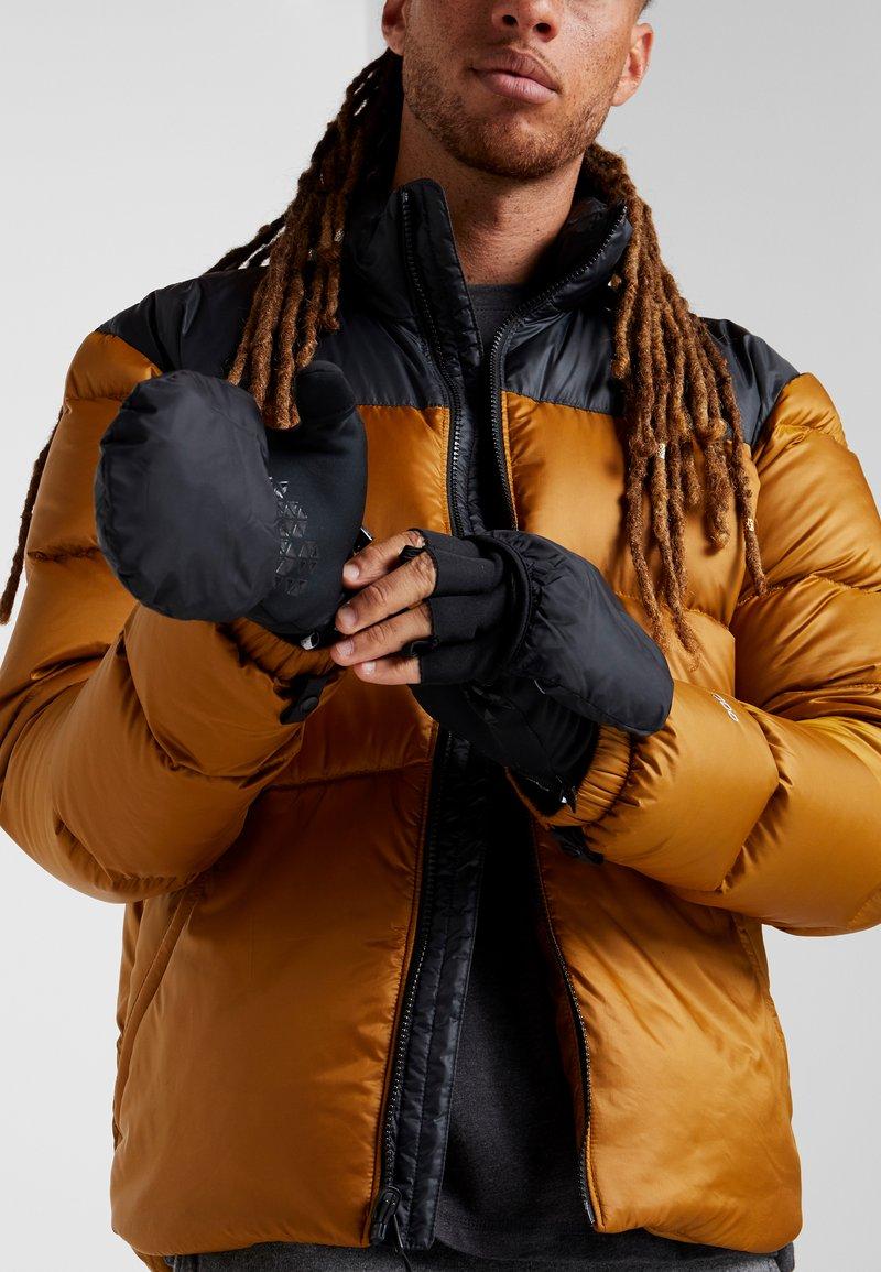 Millet - STORM INFINIUM MITTEN - Fingerless gloves - black