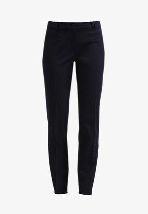 HEDY - Spodnie materiałowe - marine