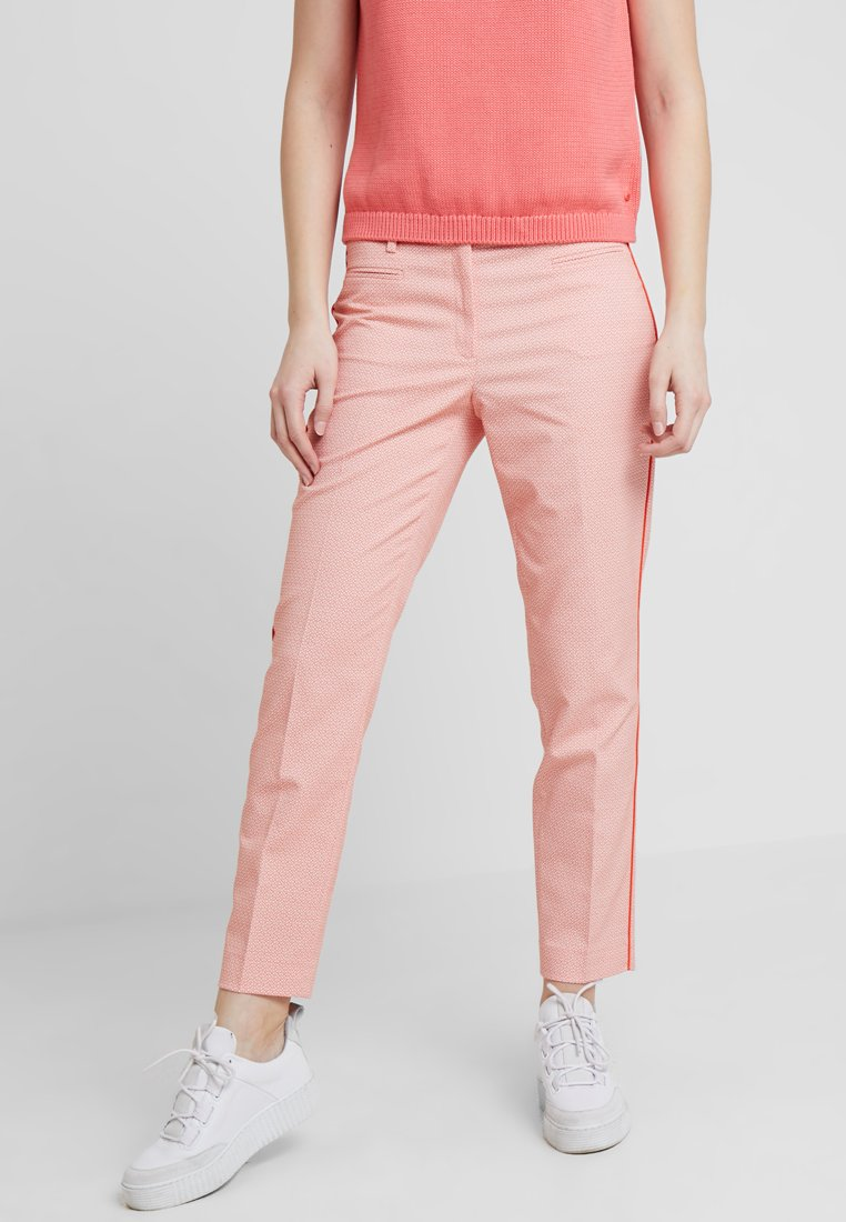 More & More - TROUSER - Trousers - papaya red