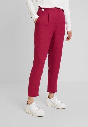 TROUSER - Kalhoty - sweet raspberry