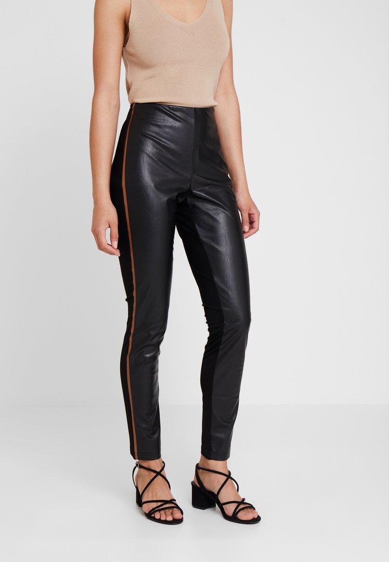 More & More - TROUSER - Leggings - Trousers - black