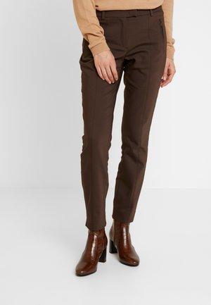 TROUSER - Pantalon classique - dark coffee