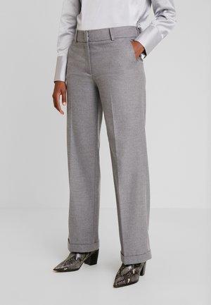 TROUSER - Trousers - silvergrey melange