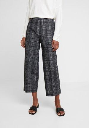 TROUSER - Trousers - black multicolor