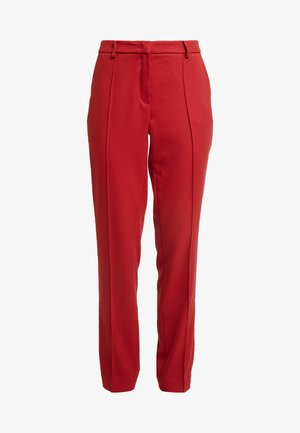 TROUSER - Broek - granate red