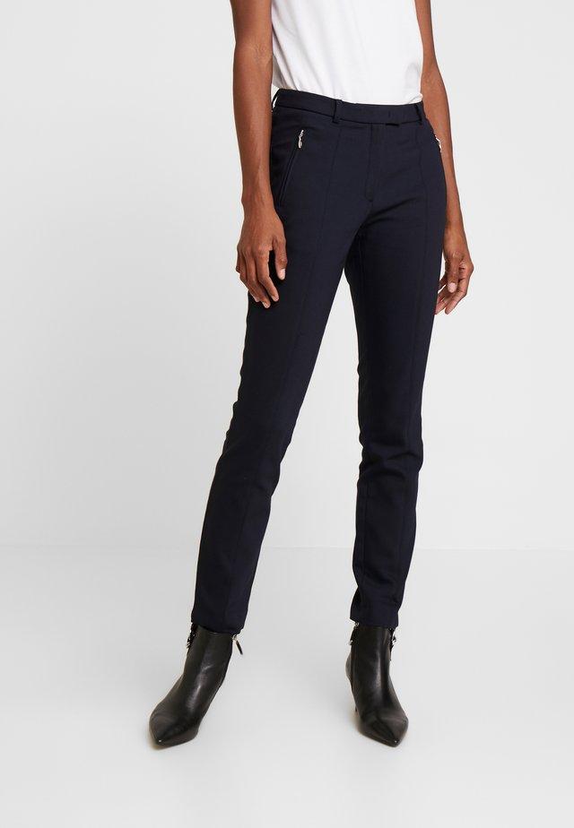 TROUSER - Spodnie materiałowe - marine
