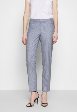 TROUSER - Trousers - marine multicolor